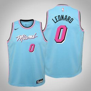 Women Miami Heat #0 Meyers Leonard City Jersey